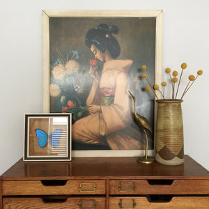 john_gilroy_oriental_lady_vintage_mid_century_picture.1