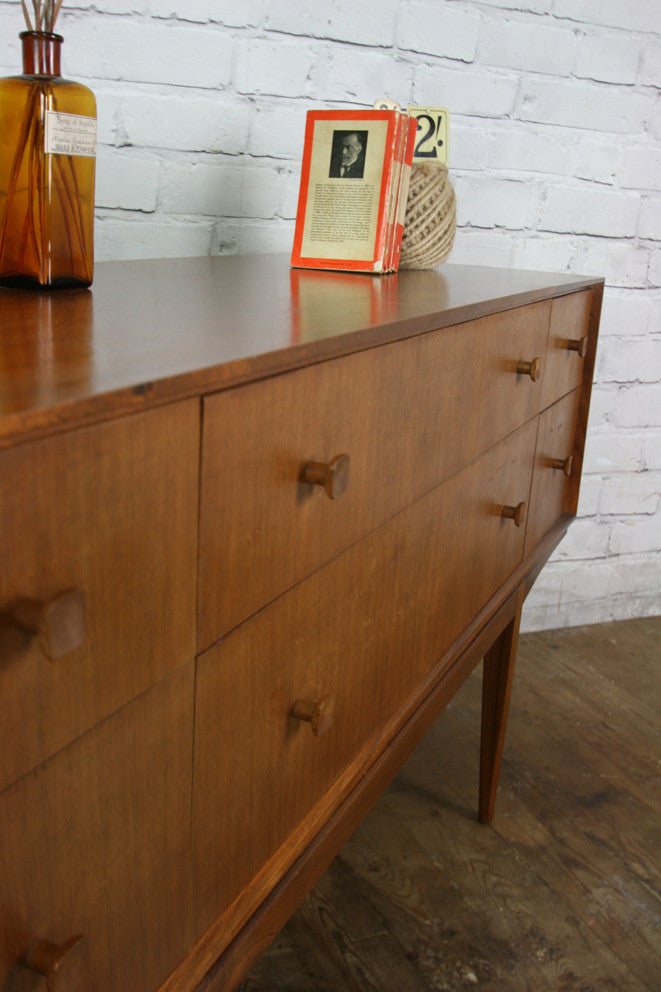 Vintage McIntosh Teak Low Chest of Drawers