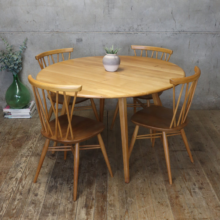 mid-century_ercol_elm_drop_leaf_round_dining_table_model_384