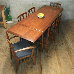 Mid Century Younger Extending Dining Table - 2606d