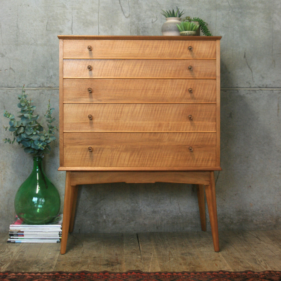 mid_century_alfred_cox_walnut_tallboy_chest_drawers