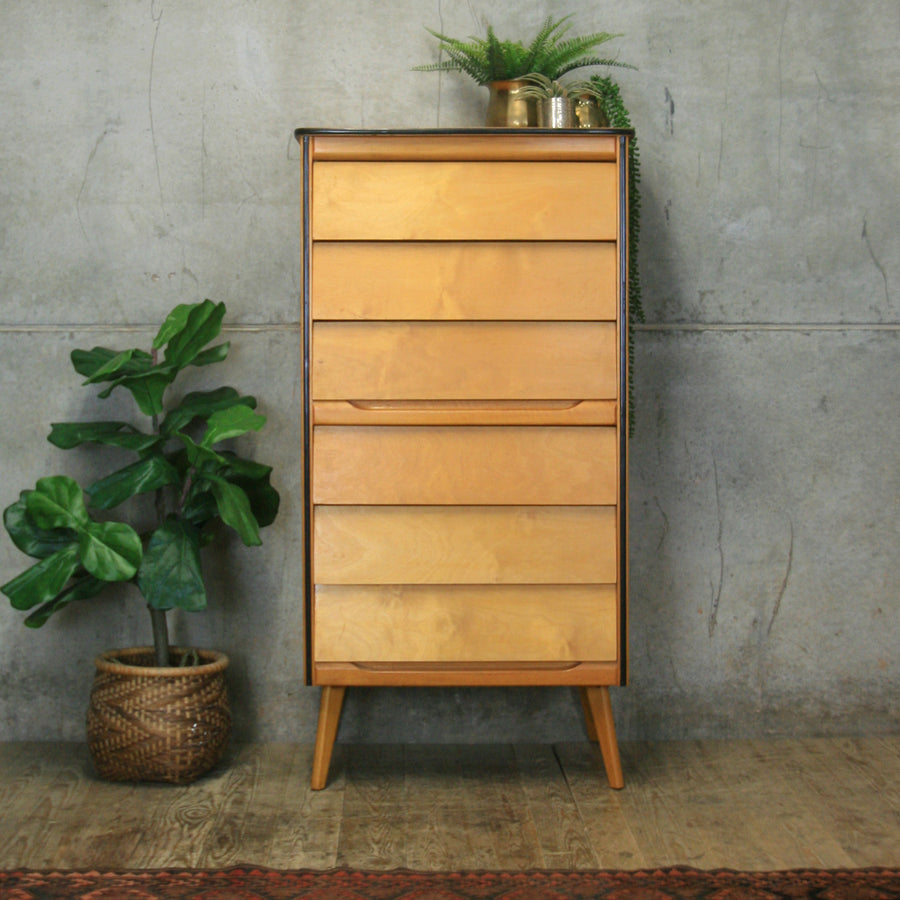 mid_century_beech_ply_chest_of_drawers_tallboy