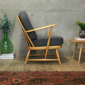 Astounding Mid Century Ercol Model 334 Armchair 0509E Gmtry Best Dining Table And Chair Ideas Images Gmtryco