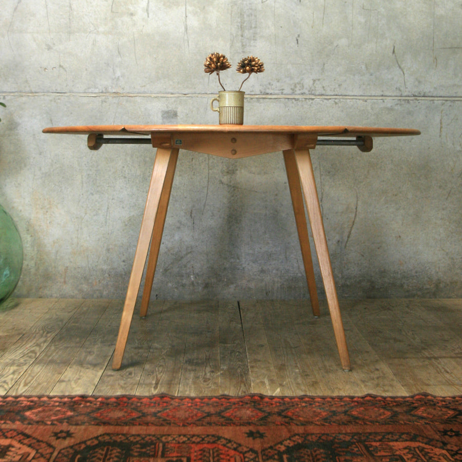 Mid Century Ercol Drop Leaf Dining Table #2103g