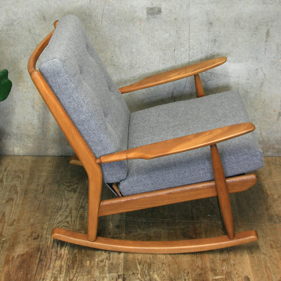Mid Century Rocking Chair (Large) #0119r