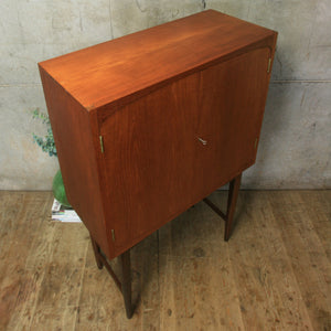 Mid Century Cocktail Drinks Cabinet - 0512k