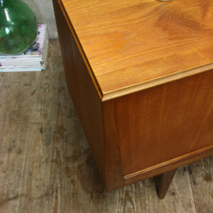 Mid Century Teak Sideboard Media Unit - 2109k