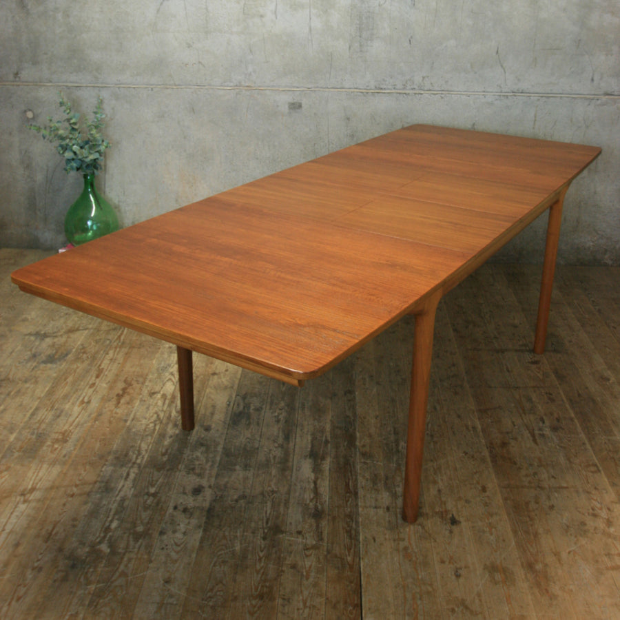 McIntosh Mid Century Teak Double Extending Dining Table - 1802d