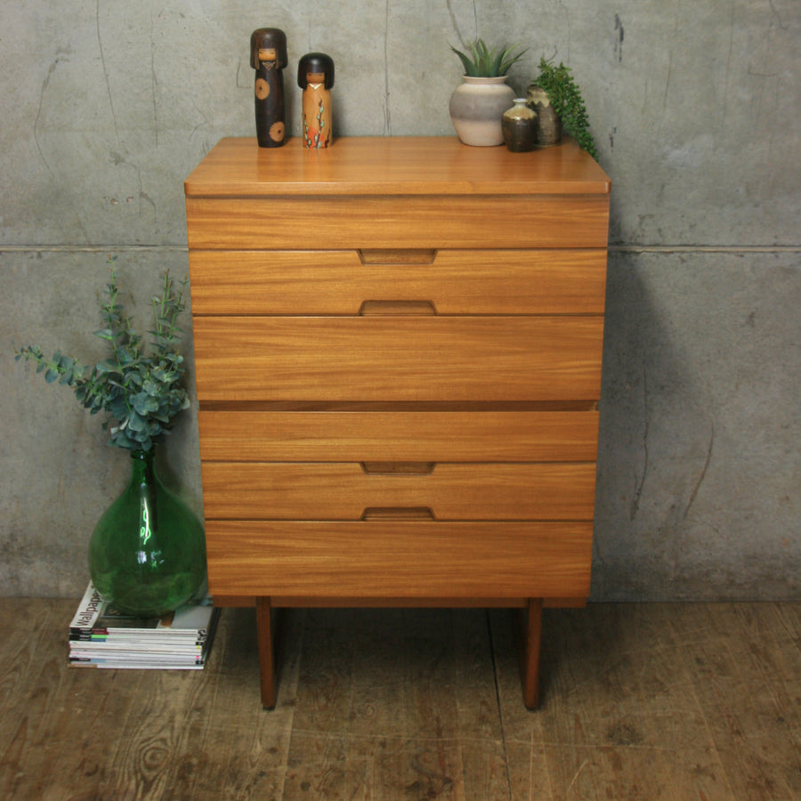 mid_century_uniflex_gunther_hoffstead_tallboy_chest_drawers
