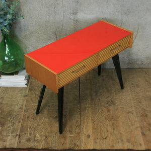 Mid Century Console / Lamp Table – 0509l