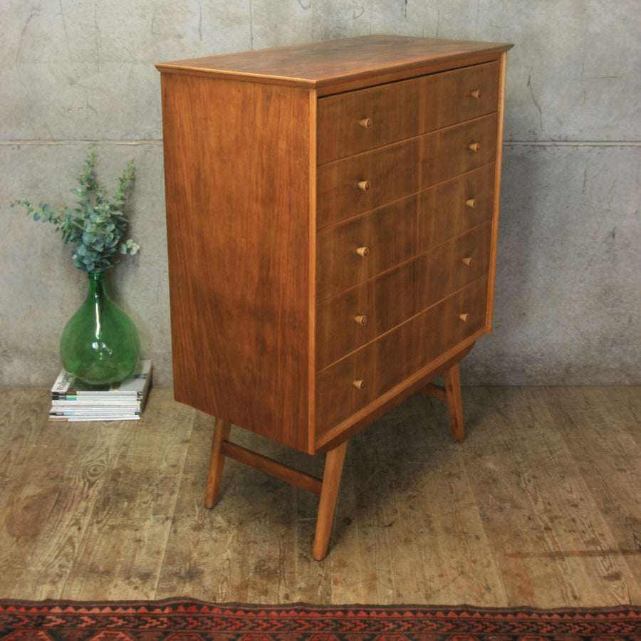 mid_century_walnut_tallboy-chest_of_drawers