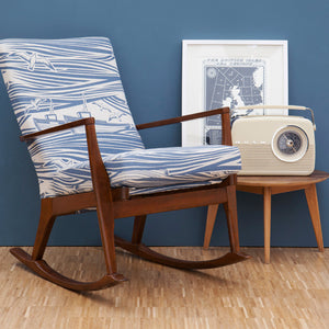 Vintage restored Mini Moderns 'Whitby' Parker Knoll rocking chair - Made to order