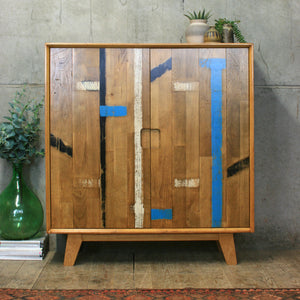 The 'Lockdown' School Cabinet - 100% Reclaimed & Handcrafted (Pre-order)