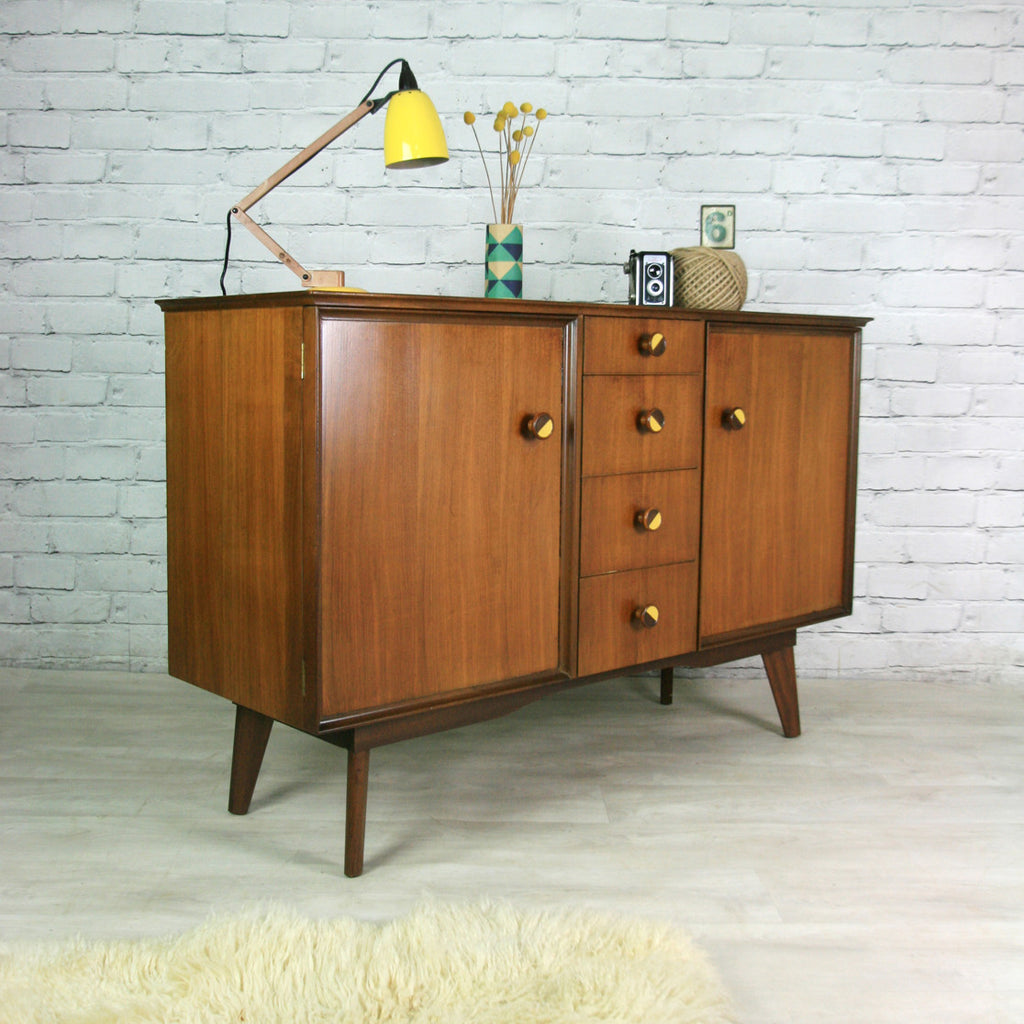 Vintage 1950s Upcycled Sideboard