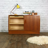 Vintage Poul Hundevad Danish Teak Cabinet TV Media Unit