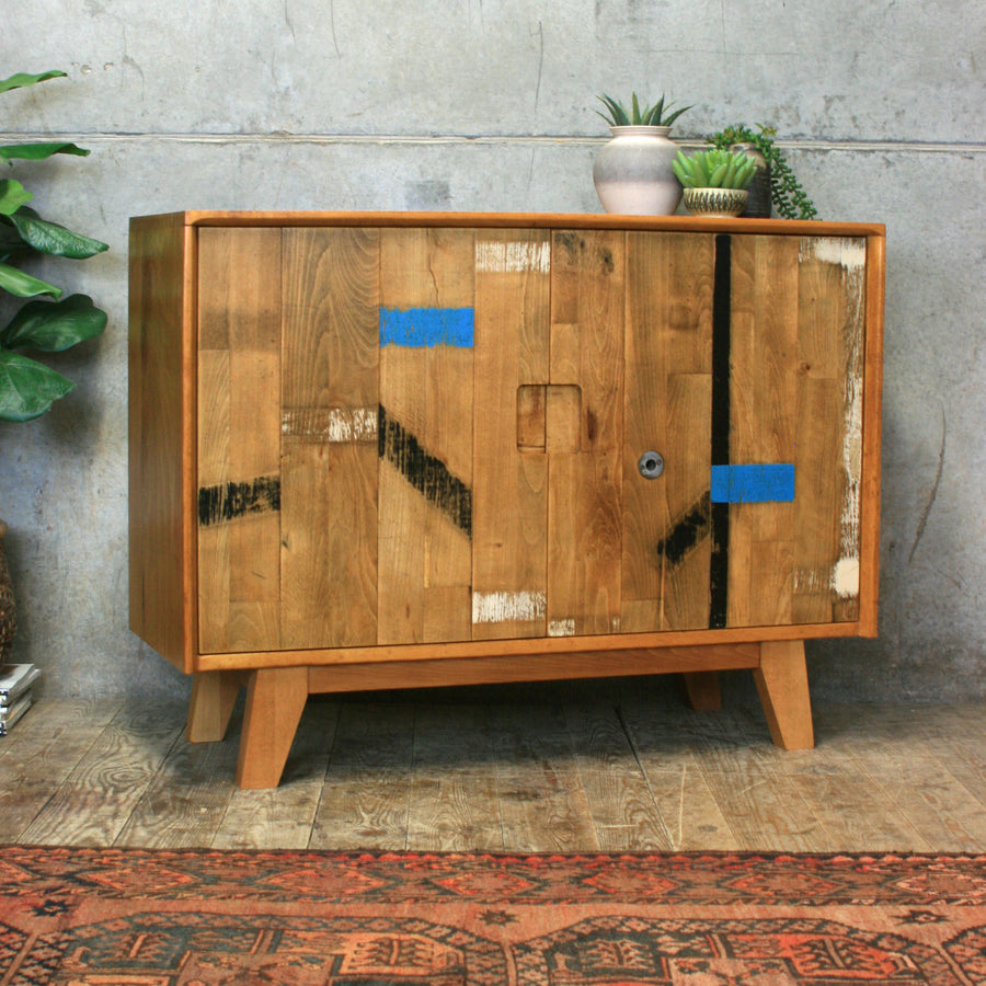reclaimed_beech_mustard_vintage_lockdown_gym_floor_sideboard