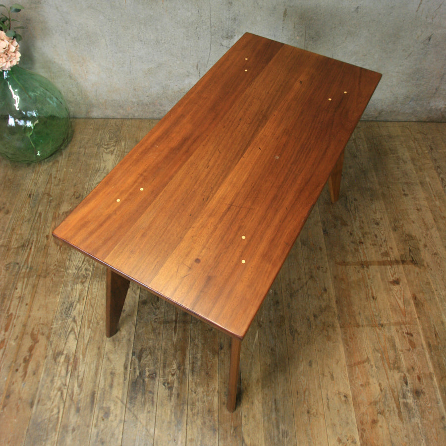 Reclaimed & Hand Crafted Iroko Desk - 120x60cm *IN STOCK*