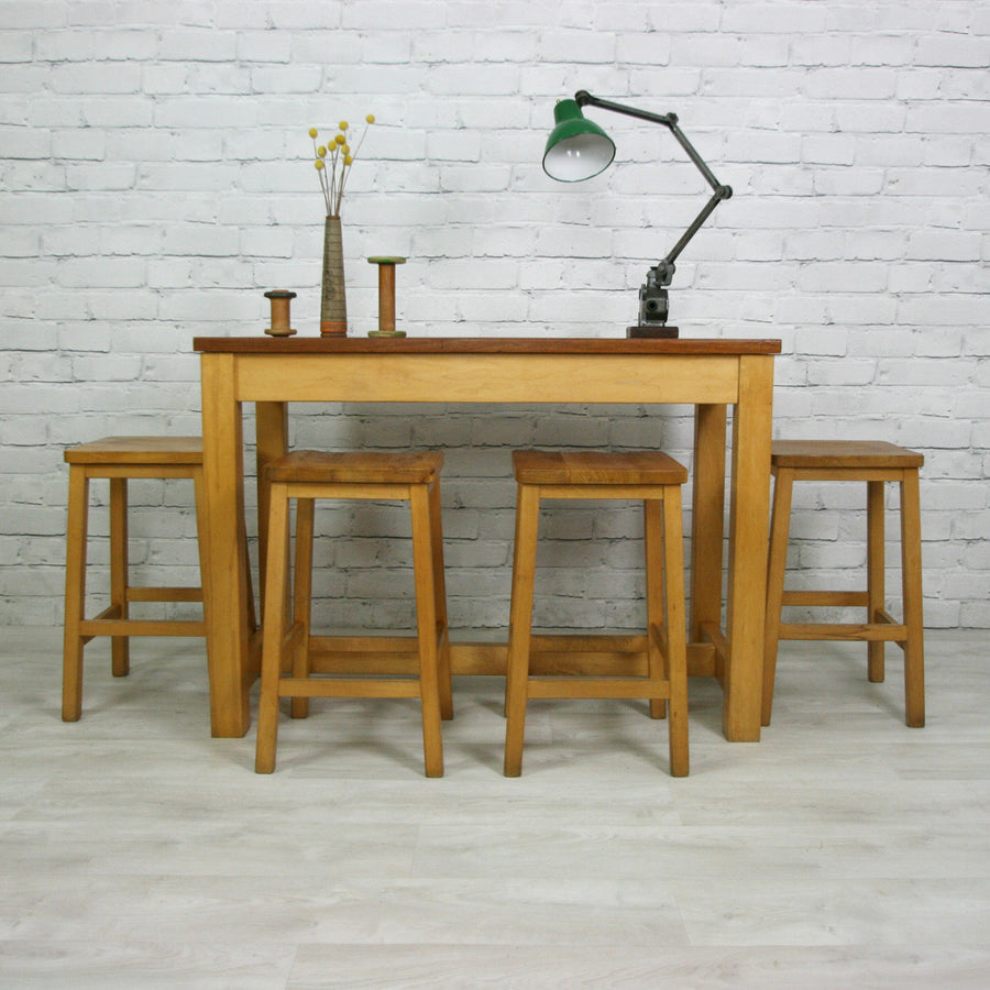 Vintage School Laboratory Table **Restored To Order**