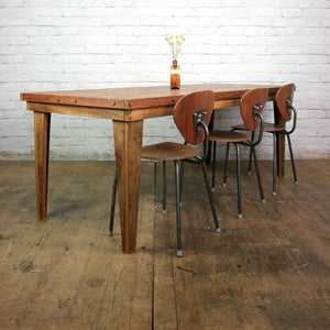 'The Iroko Handcrafted' Dining Table
