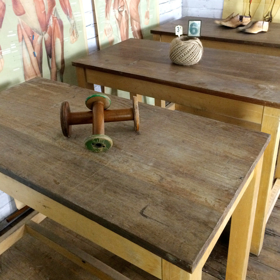 Vintage School Laboratory Table **Un-Restored**
