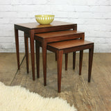 Vintage Afromosia Nest of Tables