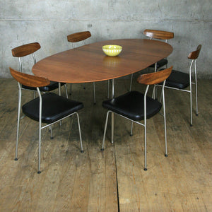 Vintage Stag 'S' Range Table & 6 Chairs