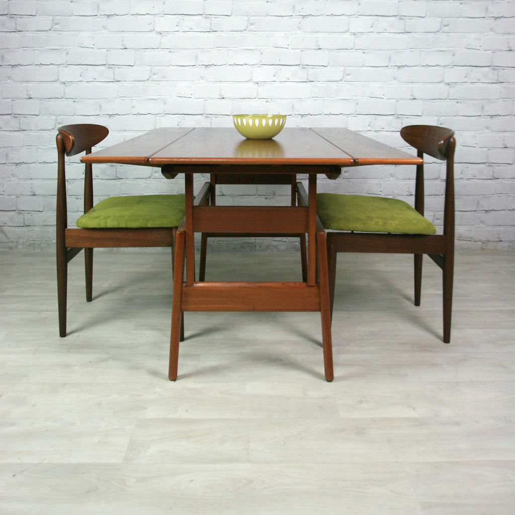 Danish Teak Trioh Metamorphic Coffee/Dining Table