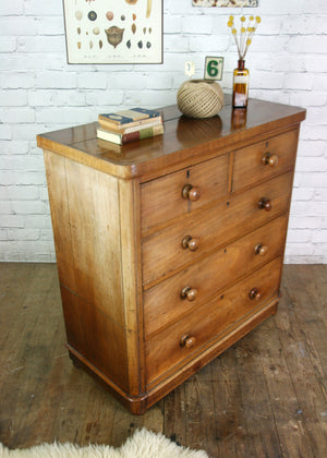 Victorian Antique Mahogany Chest of Drawers