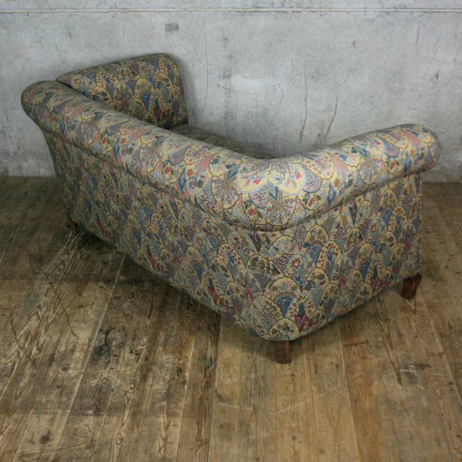 Victorian Drop Arm Chesterfield Sofa