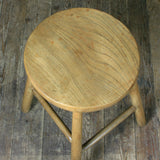 Rustic Elm Stools ( 2 x available)