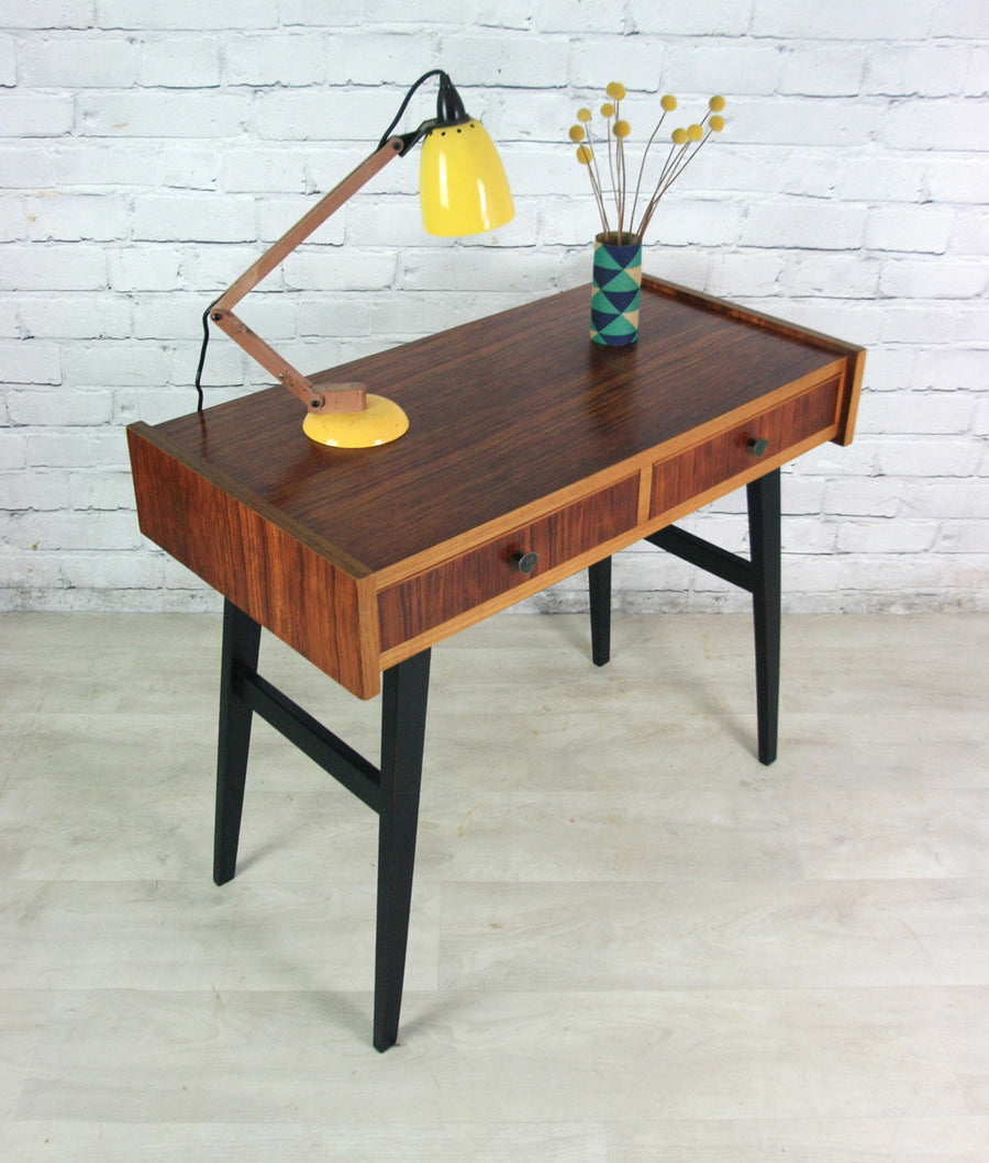 Vintage 1950s dutch console table/desk