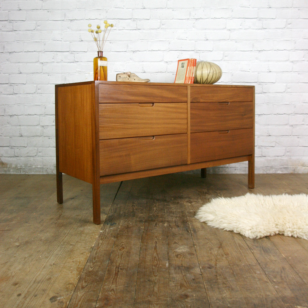 Mid Century Afromosia Chest of Drawers