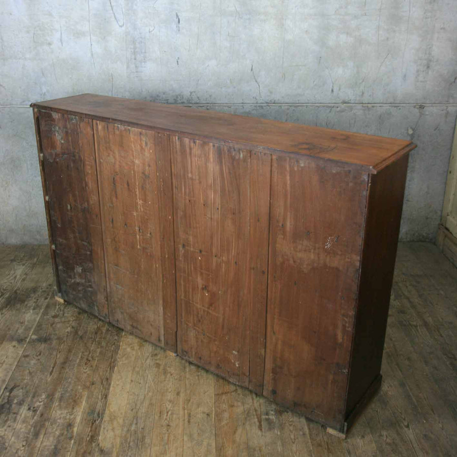 vintage_antique_mahogany_cupboard_cabinet_school_library.11