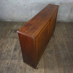 vintage_antique_mahogany_cupboard_cabinet_school_library.5