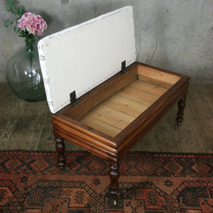 antique_mahogany_mud_cloth_tribal__duet_piano_stool_ottoman