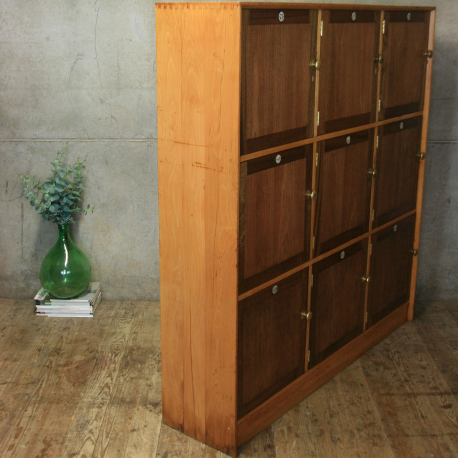 vintage_antique_mid_cebtury_wooden_school_lockers