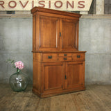 antique_oak_rustic_apothecary_cabinet