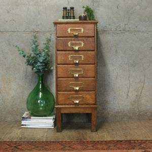 vintage_antique_oak_filing_drawers