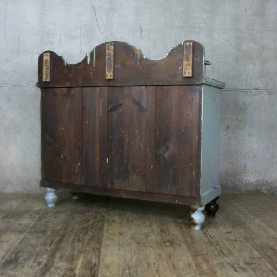 Rustic Pine Painted Sideboard – Cash/Wrap Counter