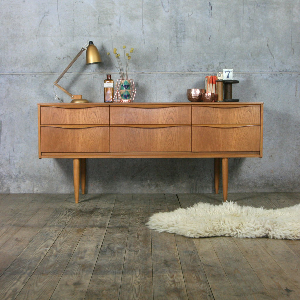 Midcentury Austinsuite Teak Chest of Drawers