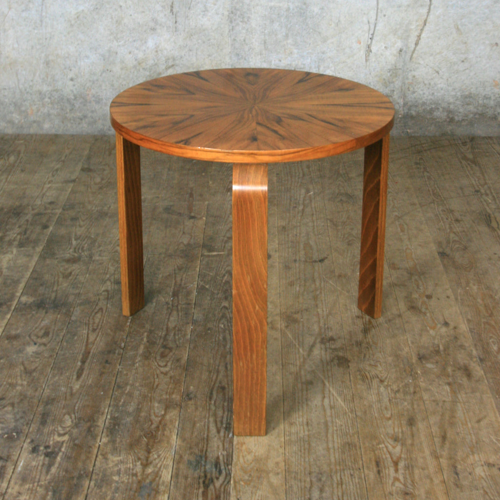 Rare Alvar Aalto Walnut Side Table
