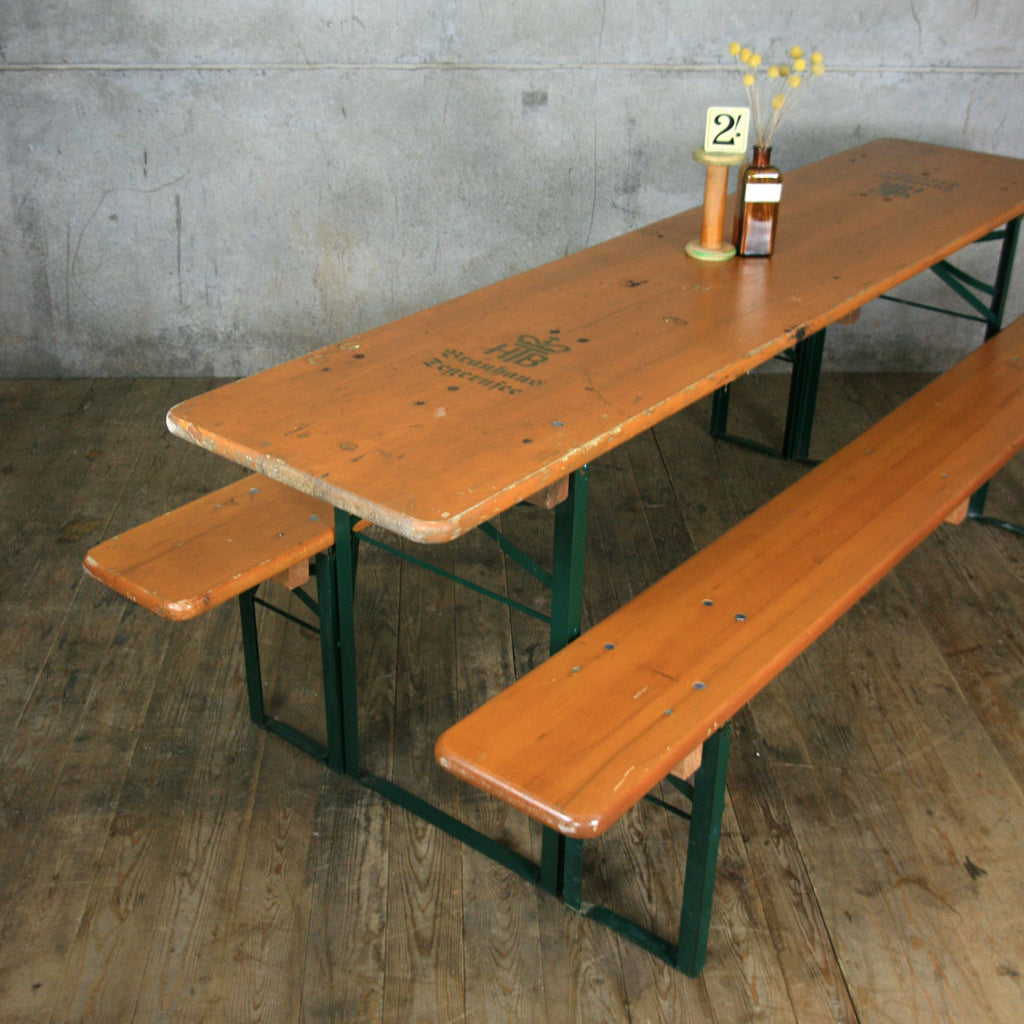 Amazing Outdoors European Biergarten Table And Bench Set Gallery ...