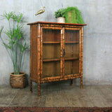 vintage_bohemian_boho_bamboo_display_drinks_cabinet