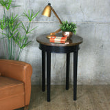Vintage Copper Painted Occasional Table