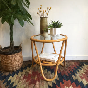 vintage_cane_bamboo_bohemian_table.1