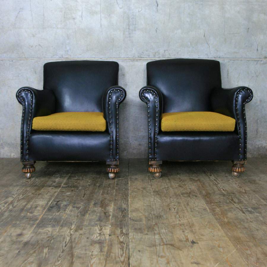 Vintage Club Chair #1 – one of a pair