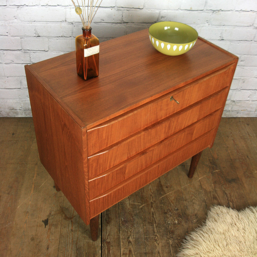 Danish Midcentury Teak Chest of Drawers