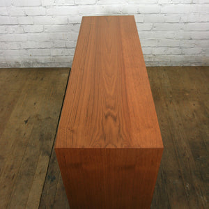 Vintage Danish Teak Media Cabinet #1 (pair available)