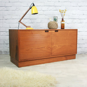 Vintage Danish Teak Cabinet TV Media Unit