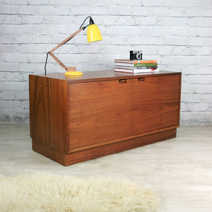 Mid Century Danish Teak Cabinet TV Media Unit